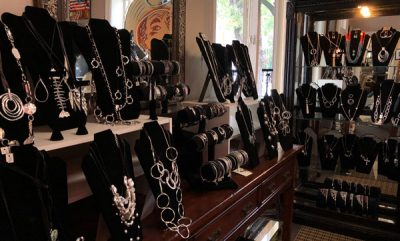 Jewelry collection at Aspen Home Consignment