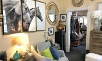 Living room at Aspen Home Consignment